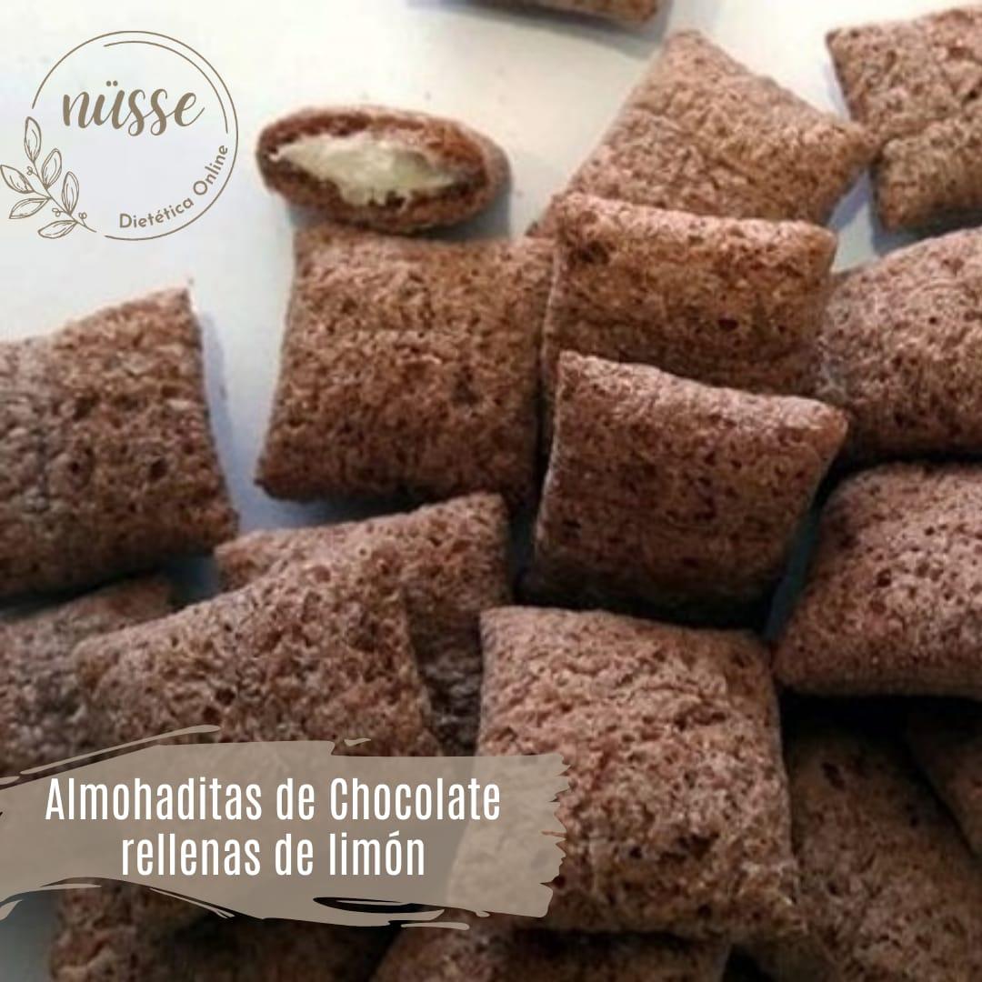 Almohaditas de Chocolate rellenas Limon «NUSSE» – 250 gr