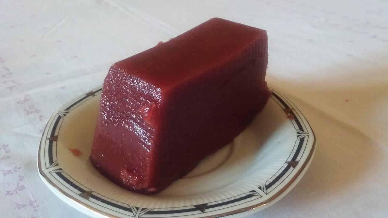 Dulce de frutillas en barra 250 gr. – «Mastay»