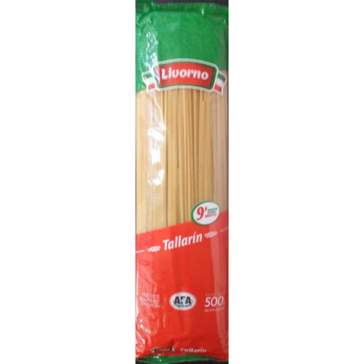 Fideos secos «LIVORNO» – Tallarin – 500[g]