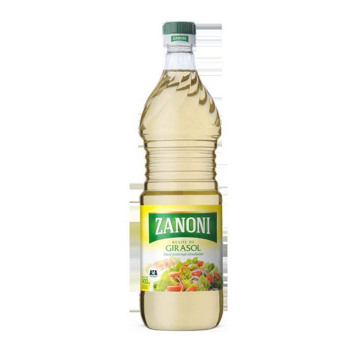 Aceite Girasol Puro «ZANONI» – 900[ml]