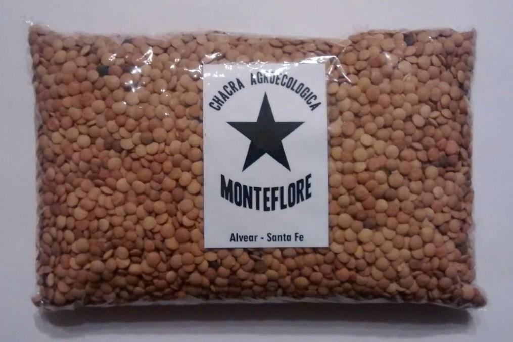 Lentejas Agroecológicas «MONTEFLORE» – 500[g]