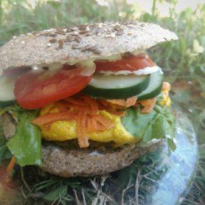 Combo Veggie Burger – NATURALITO