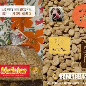 Alimento nutricional para perros MEISTER – Bolsa 1 KG