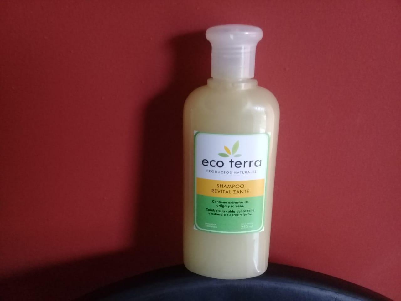 Shampoo Revitalizante «ECO TERRA» – 250 ml