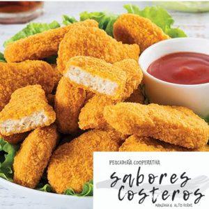 """Bandeja Patitas de pescado – """"SABORES COSTEROS"""""""