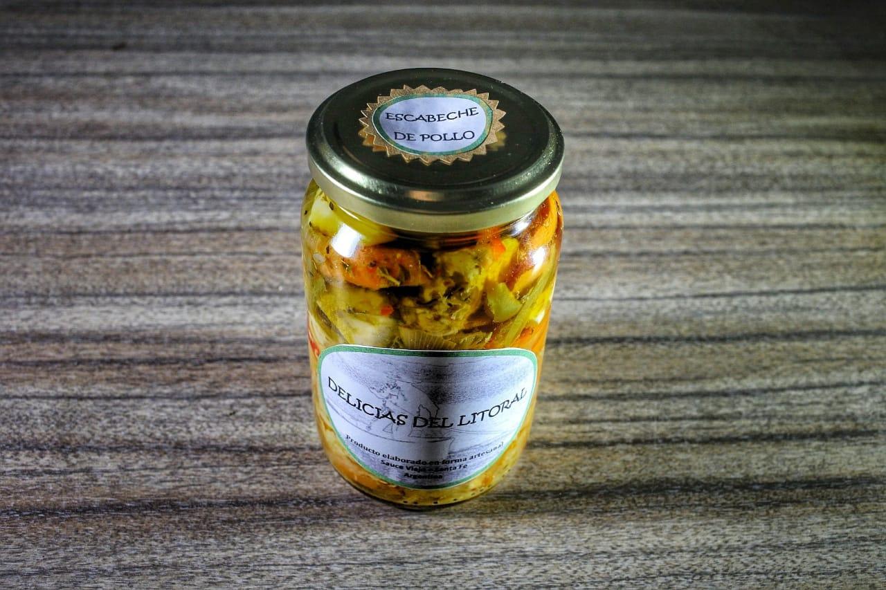 Escabeche de Pollo – «Delicias del Litoral» x 350 gr