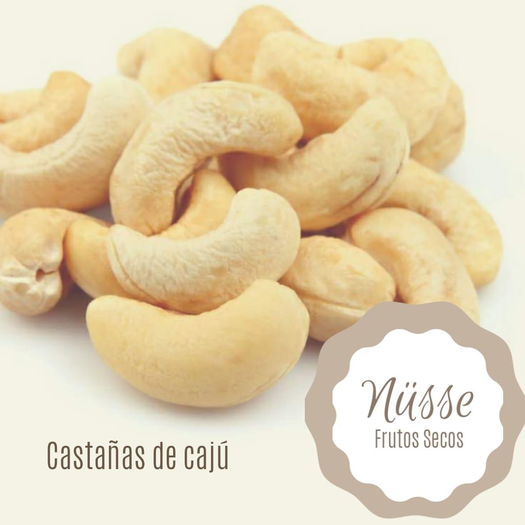 Castañas de Cajú tostadas «NUSSE» – 250 gr