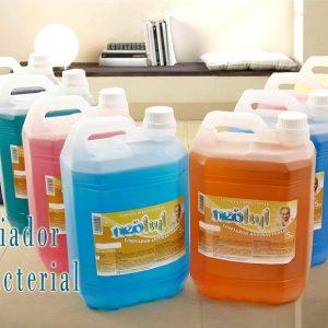 """Limpiador desodorante antibacterial """"neohyl"""" – Bidón 5L"""