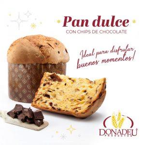 Pan Dulce «DONADEU» – Chip de chocolate