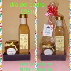 Combo 2 (Licor dulce de leche, dulce de frutillas) «Delicias del Litoral»