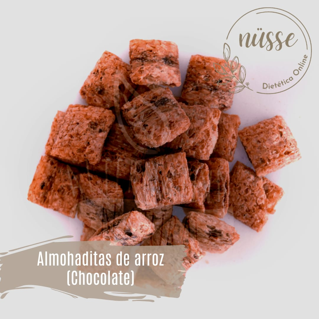 Almohaditas de Arroz rellenas Chocolate «NUSSE» – 250 gr