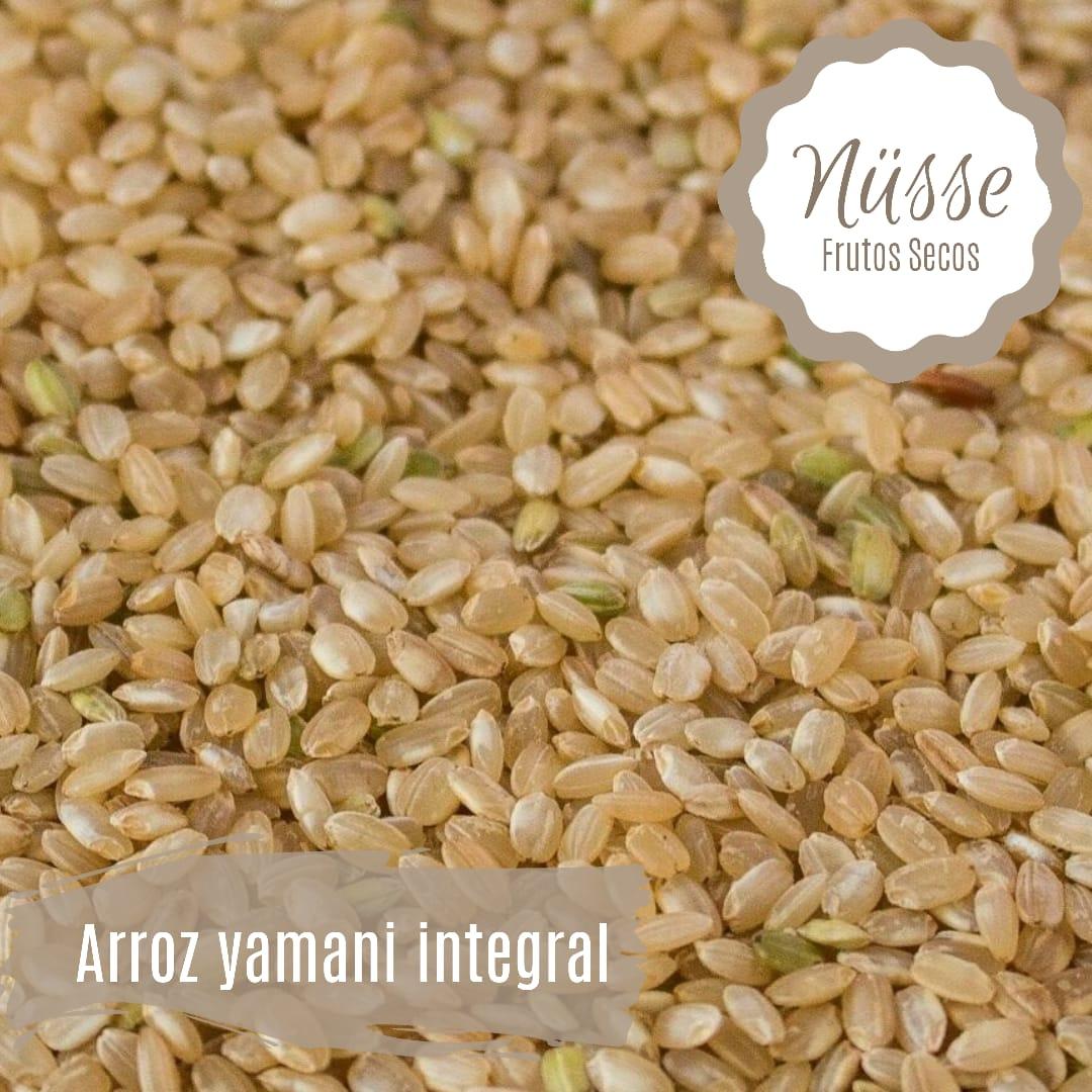 Arroz yamaní integral «NUSSE» – 500 gr