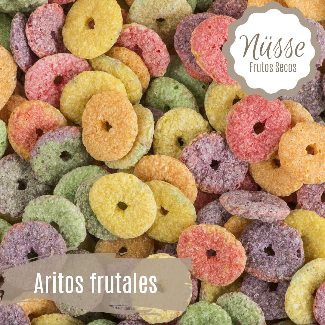 Aritos Frutales «NUSSE» – 250 gr