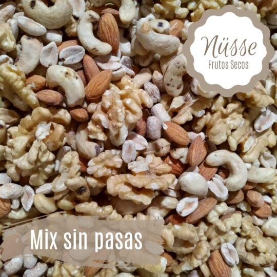 """Mix Frutos Secos tropical """"NUSSE"""" (castaña – nuez – pasas – banana – anana – papaya)"""