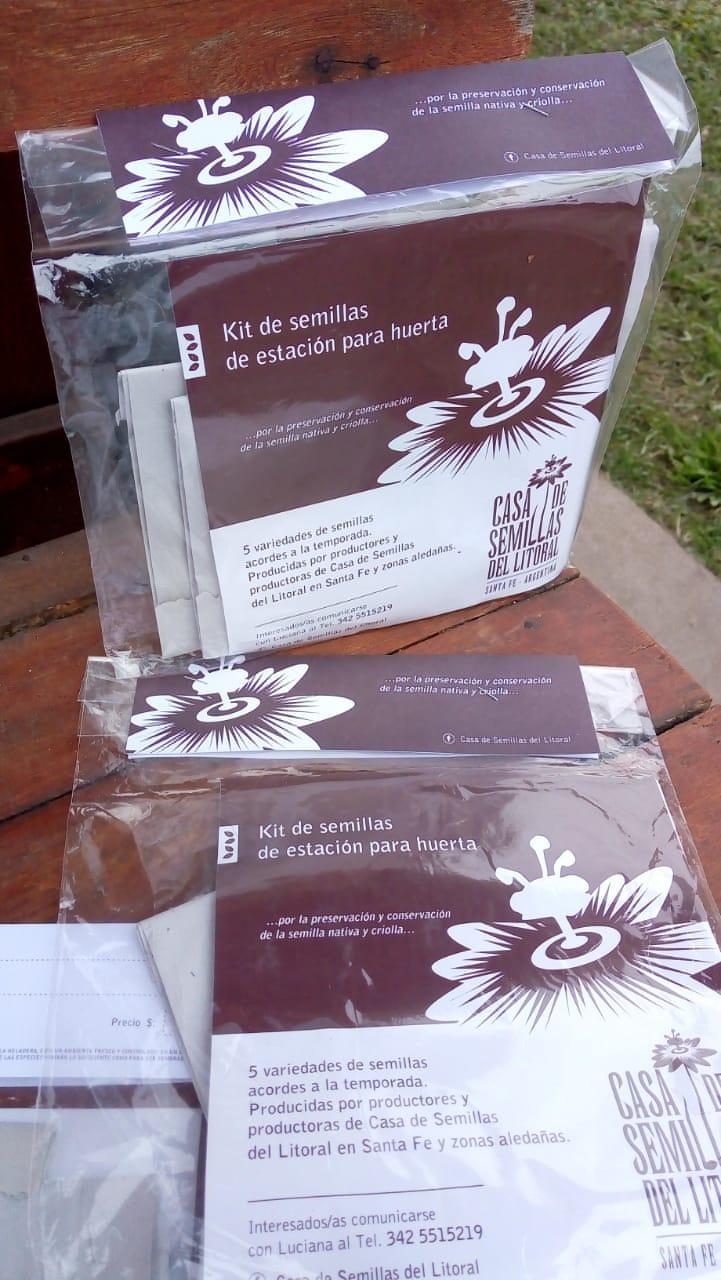 KIT de semillas de estacion CASA DEL LITORAL
