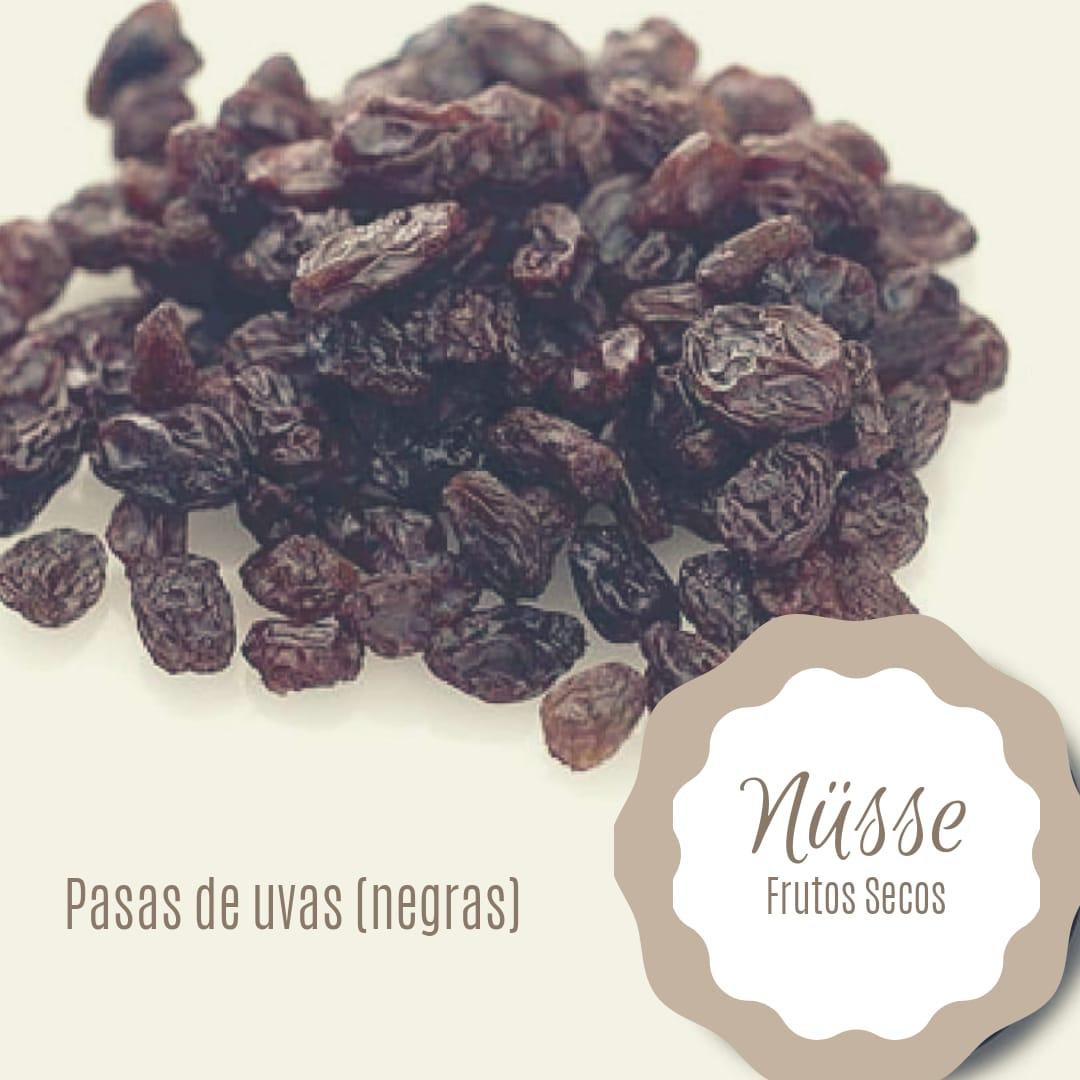 Pasas de uva morochas sin semillas «NUSSE» – 250 gr