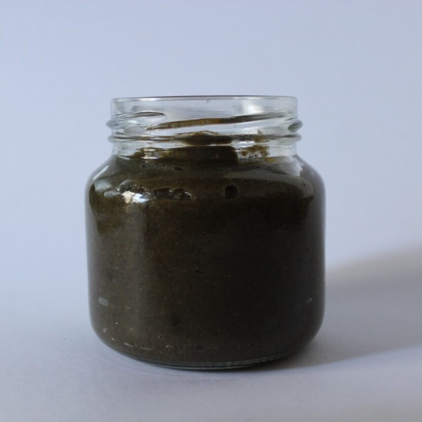 Crema de Porotos Negros y cúrcuma ahumada «La Vecina Tierra» – 215 gr.