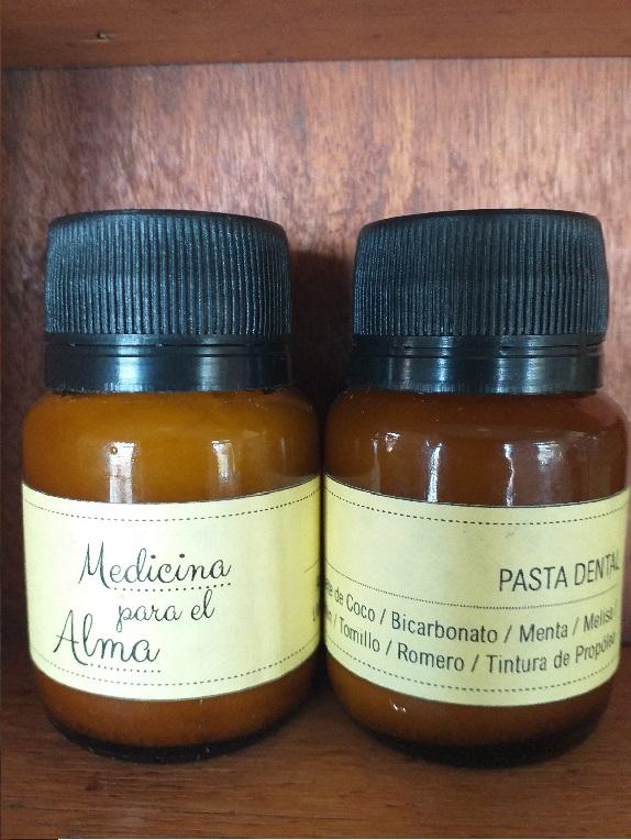 Pasta dental de aceites «Medicina para el alma»