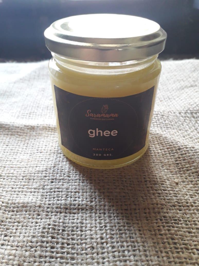 Ghee manteca clarificada «Saramama» – 200 gr