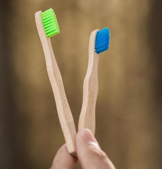 Cepillo de dientes de Bambu Kids – «Grün»