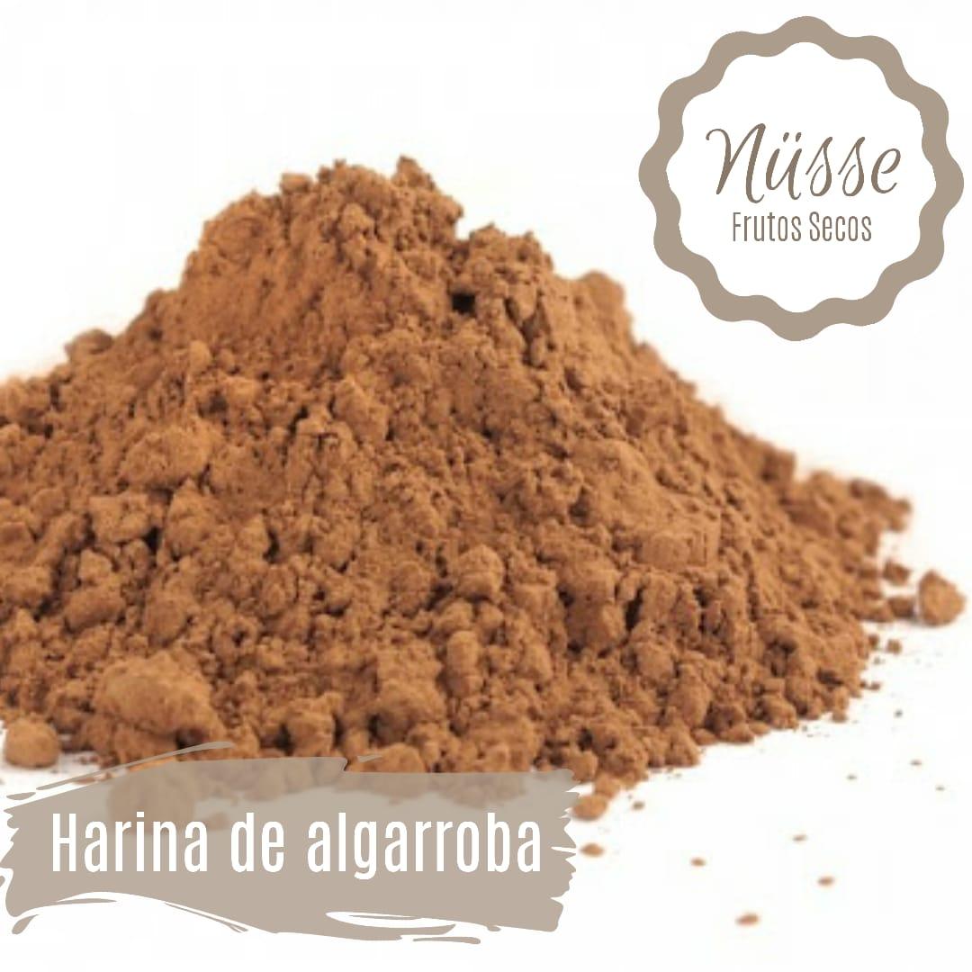 Harina de algarroba «NUSSE» – 250 gr