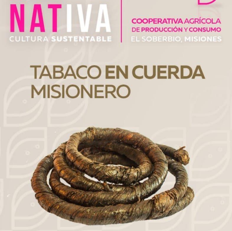 Tabaco en cuerda misionero «Nativa» – 50gr.