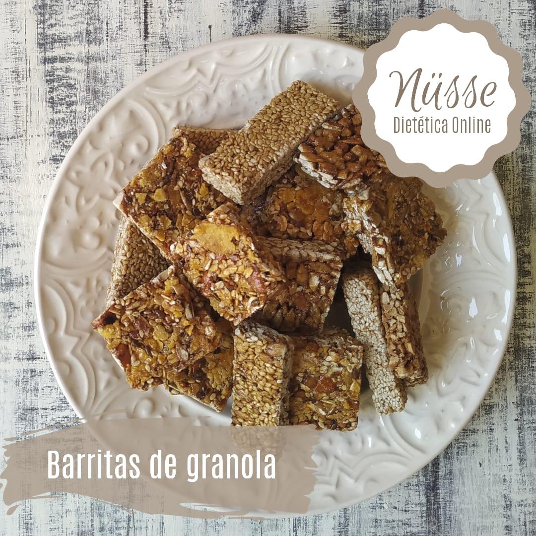 Barritas de granola y semillas «NUSSE» – 250 gr