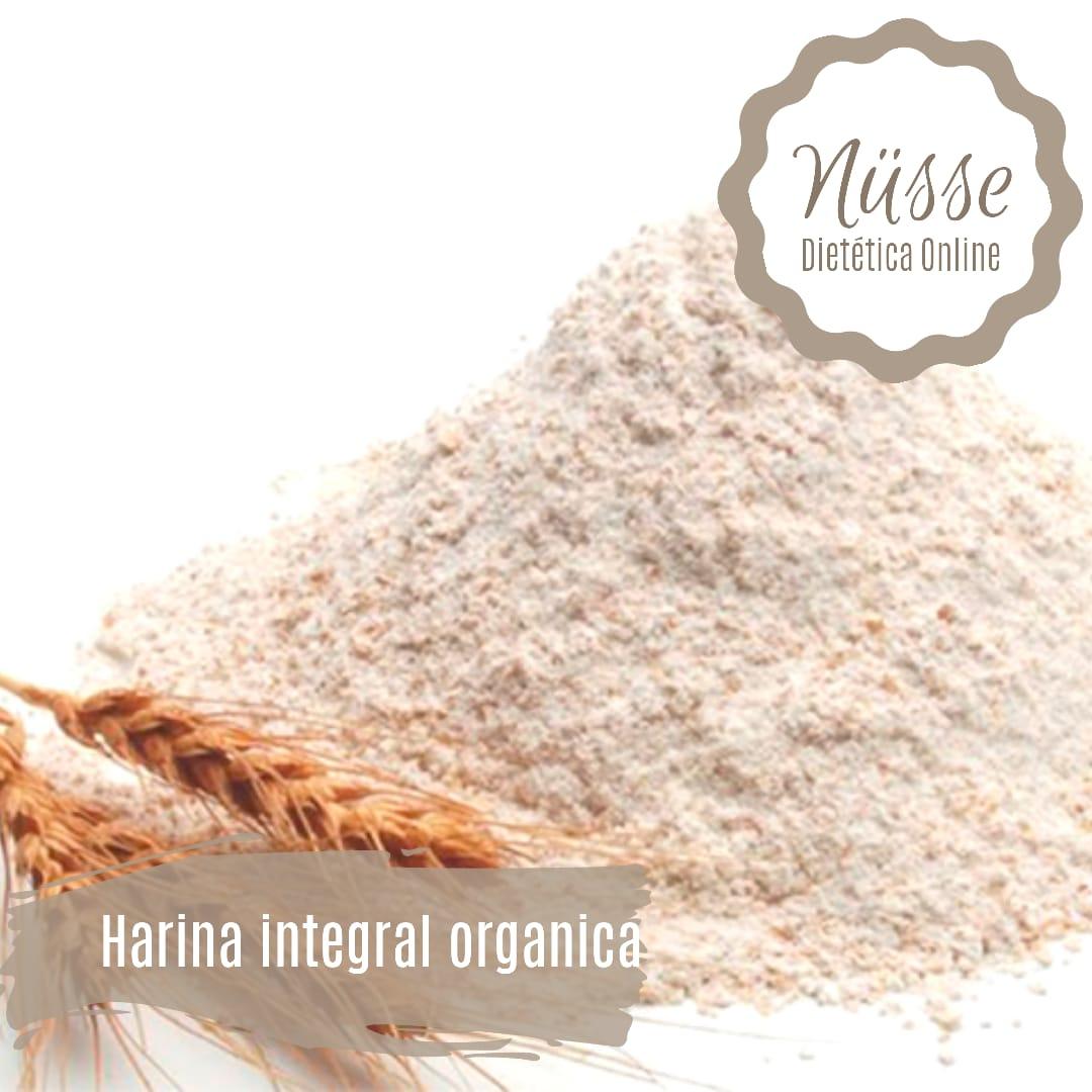 Harina integral organica «NUSSE» – 500 gr