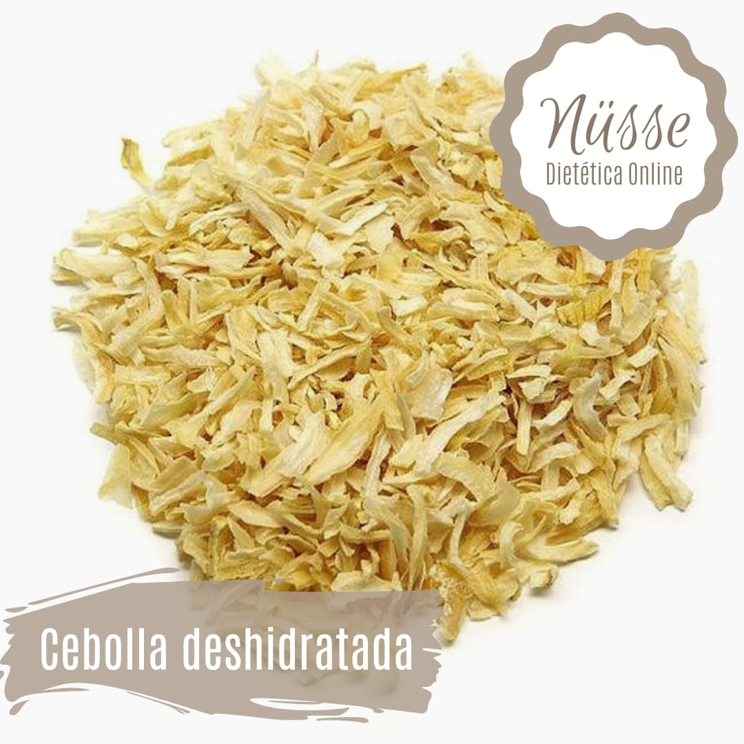 Cebolla Deshidratada «NUSSE» – 100 gr