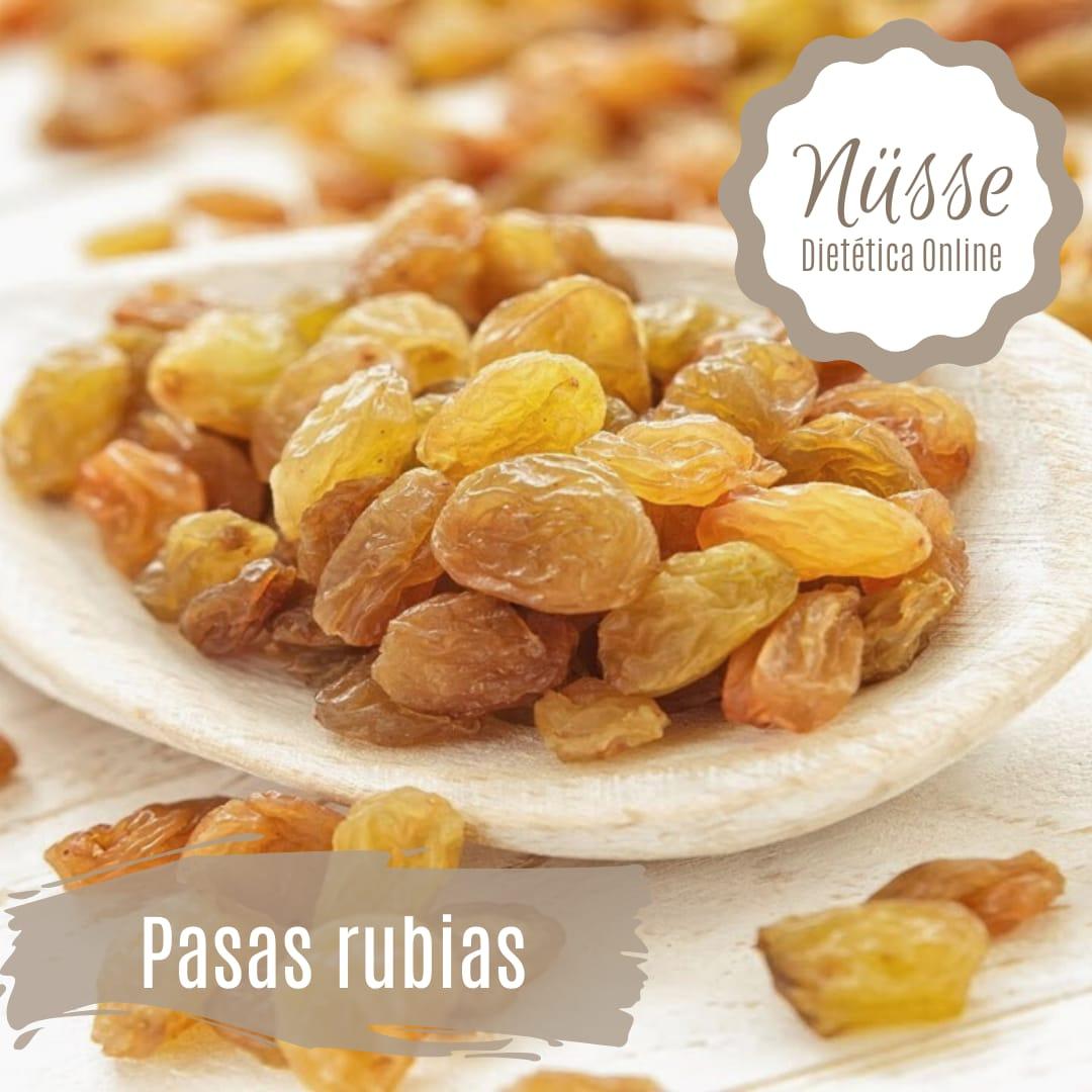 Pasas de uva rubias sin semillas «NUSSE» – 250 gr