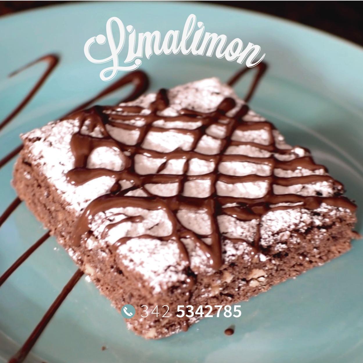 Brownie «Lima Limón» – 1 porción