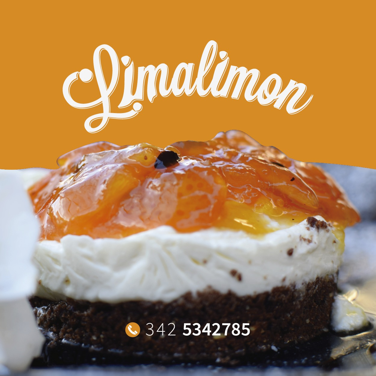 Chesscake naranja y maracuyá «Lima Limón» 1 porción
