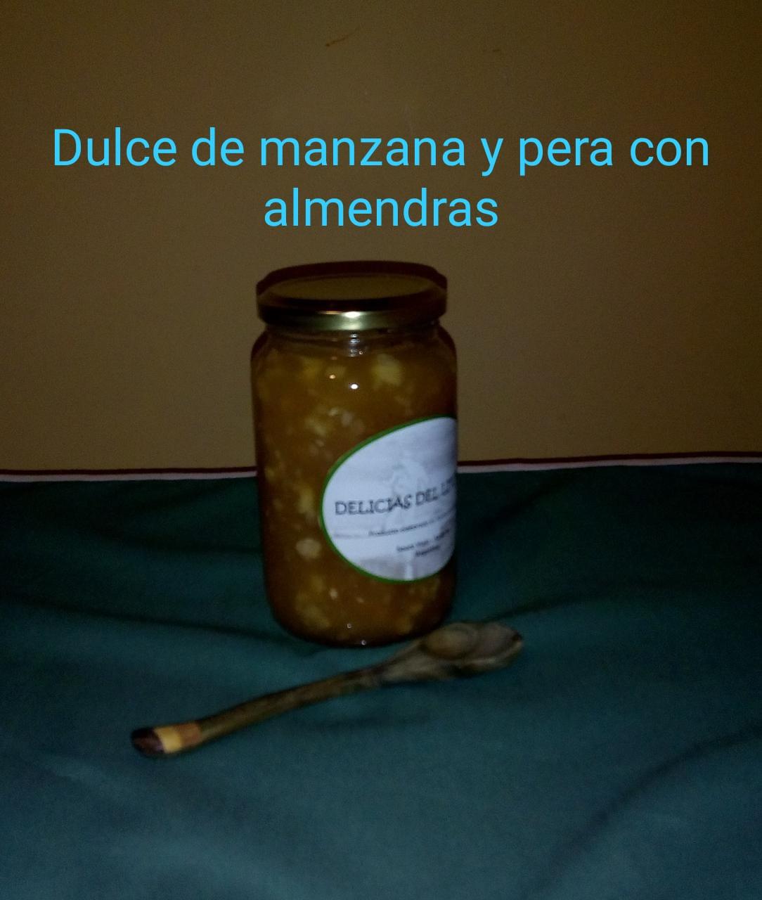 Dulce de manzana, pera y almendras «Delicias del Litoral»