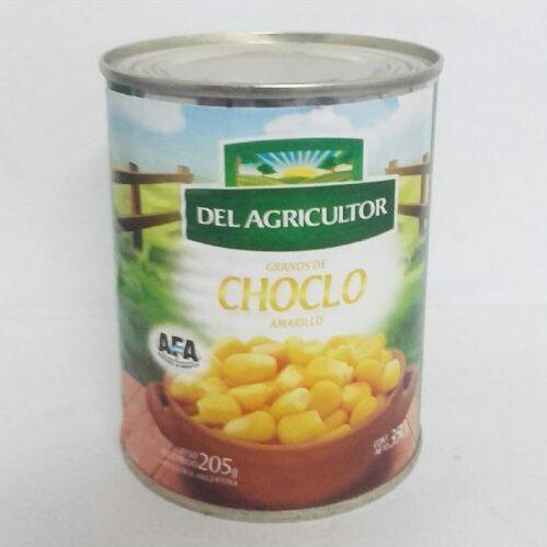 Choclo entero enlatado – 350g – «Del agricultor»