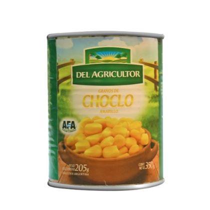 Choclo cremoso amarillo enlatados – 350g – «Del agricultor»