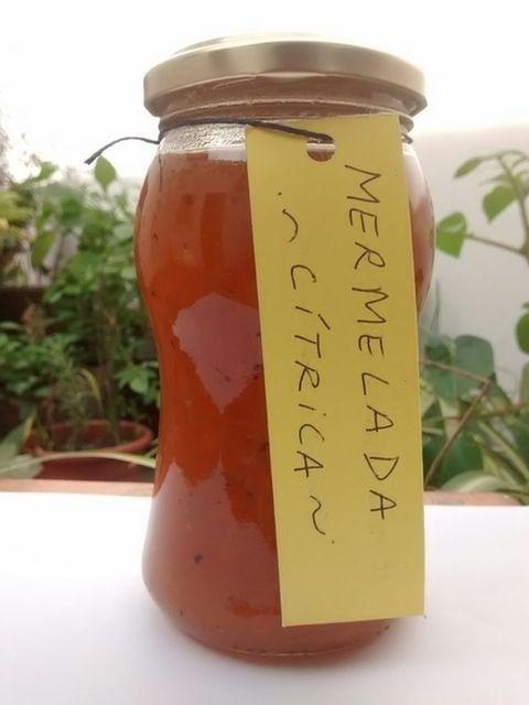 Mermelada Citrica Agroecologica 400 gr. – «La Vecina Tierra» (Pomelo, Naranja, Jengibre)
