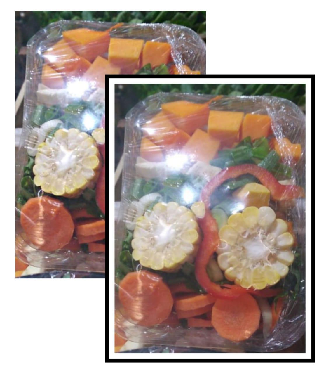 Canasta Sopera «UTT» – 2 Bandejas. Contienen: Calabaza, Zapallo, Oregano, Batata, zanahoria y apio.