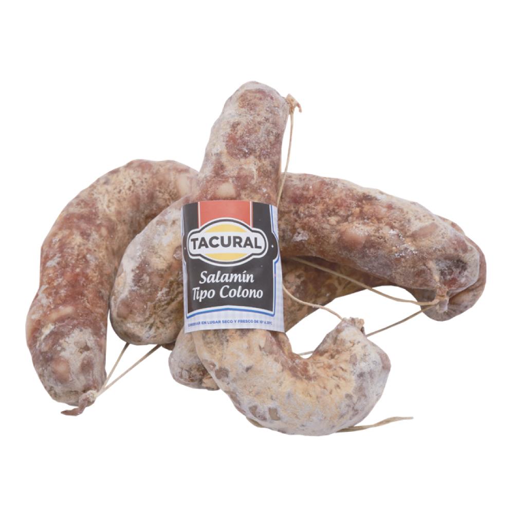 Salamín tipo colono «TACURAL» – 250g aprox.